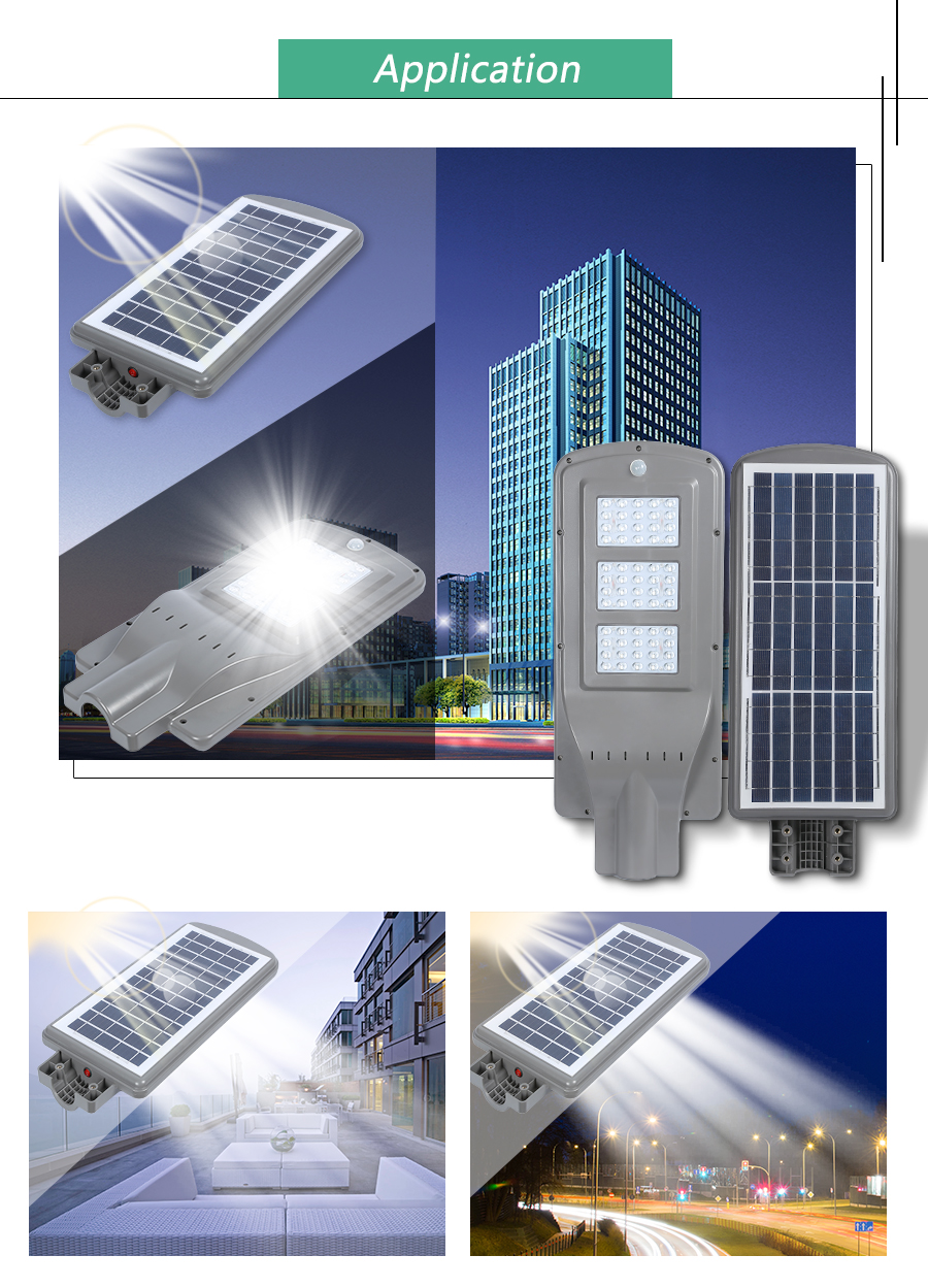 all in one solar outdoor light