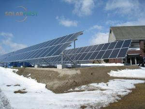 Concrete Foundation Ground Solar Mount