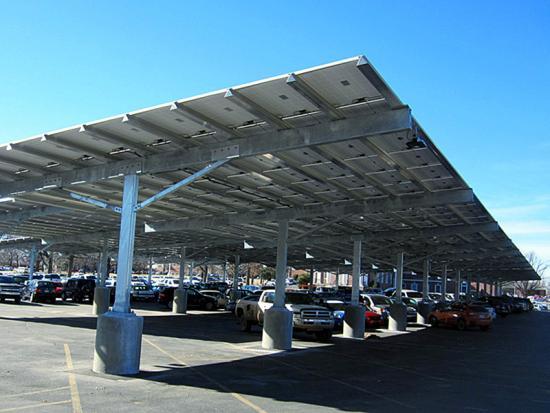 Solar Carport Steel Structure Solar Carport Mounting System Solar Mounting Structures