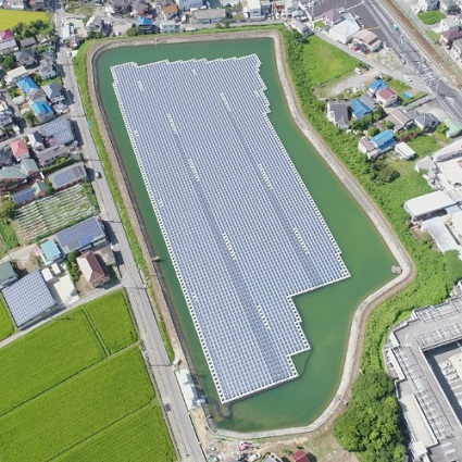 675KW Water solar PV project located in Switzerland 2018