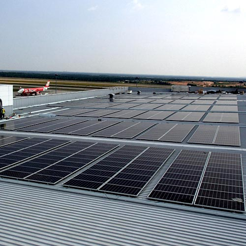 5.8MW Solar Tin Roof Project in America in 2016